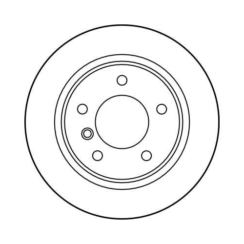 Brake Disc TRW DF2767 BMW