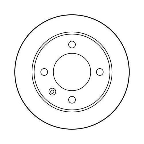 TRW Brake Disc DF1122