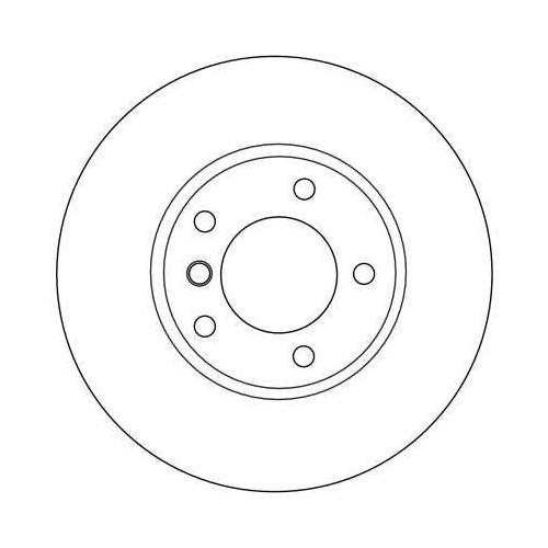 Brake Disc TRW DF4055 BMW