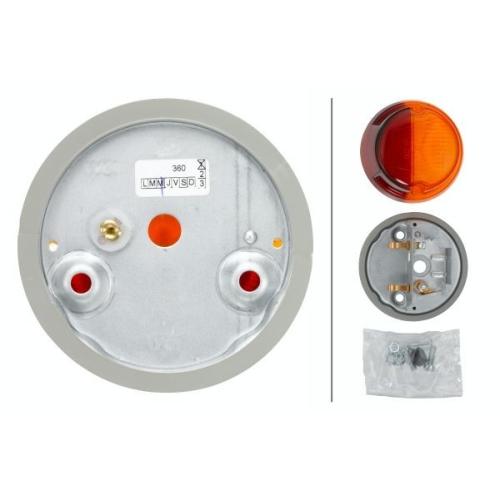 Combination Rearlight HELLA 2SB 001 259-261 FORD INTERNATIONAL HARV. MAN SCANIA