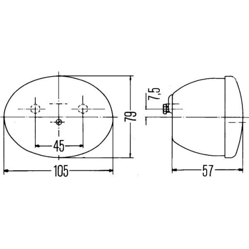 Combination Rearlight HELLA 2SB 001 673-002 FORD MERCEDES-BENZ FENDT JOHN DEERE