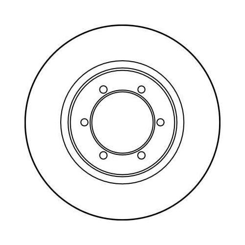 Brake Disc TRW DF3118 MITSUBISHI CHANGFENG