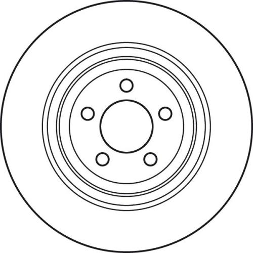Brake Disc TRW DF6028S CHRYSLER