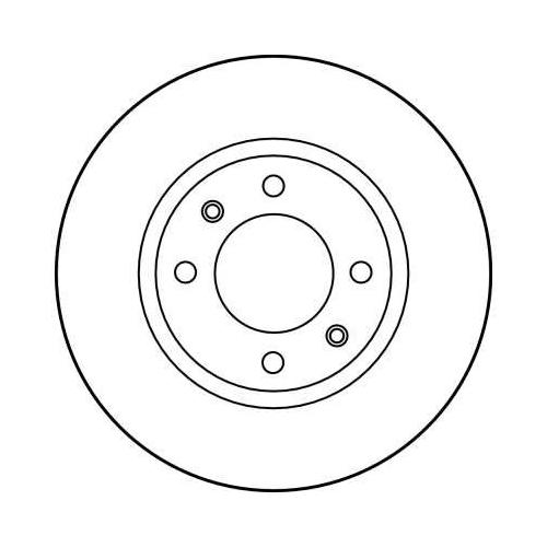 TRW Brake Disc DF1216
