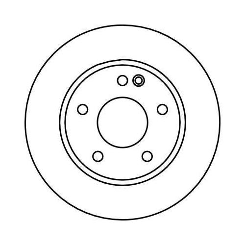 TRW Brake Disc DF4035