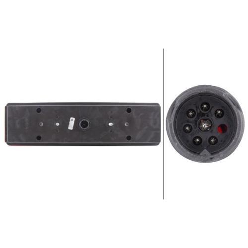 Combination Rearlight HELLA 2VP 008 204-081 DAF MERCEDES-BENZ SCANIA