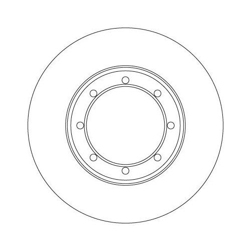 TRW Brake Disc DF6372