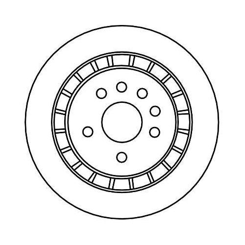 TRW Brake Disc DF4337