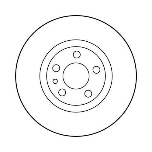 TRW Brake Disc DF2716