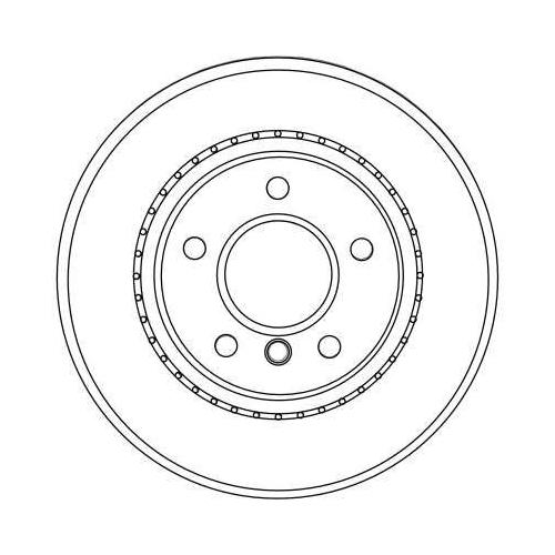 TRW Brake Disc DF4450
