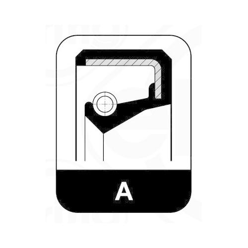 Seal Ring ELRING 412.104 AUDI FIAT HANOMAG IVECO KHD MAGIRUS-DEUTZ SAAB SEAT VW