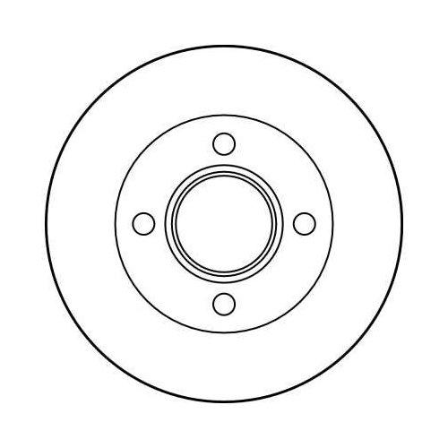 TRW Brake Disc DF2753