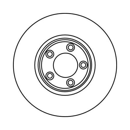 TRW Brake Disc DF4105