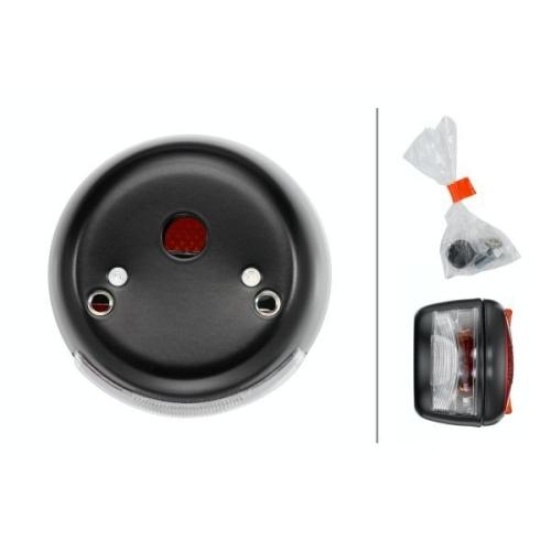 Combination Rearlight HELLA 2ST 003 018-061 INTERNATIONAL HARV. MERCEDES-BENZ