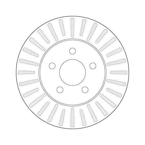 TRW Brake Disc DF6491