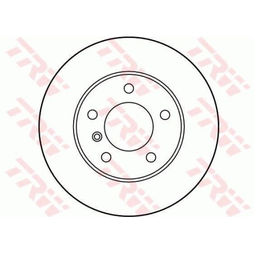 Brake Disc TRW DF1539 BMW