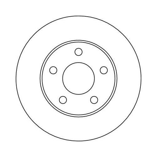 TRW Brake Disc DF4041