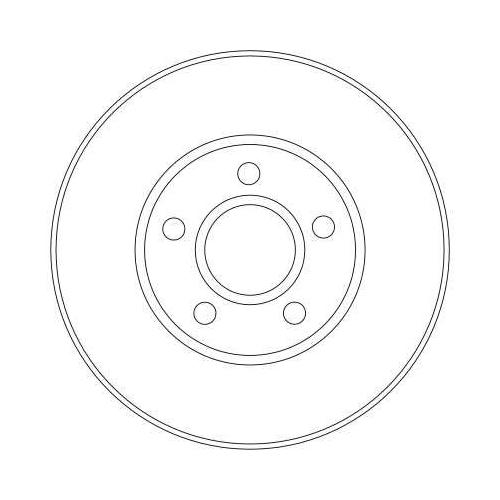 TRW Brake Disc DF4277