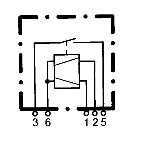 Multifunctional Relay HELLA 4RC 933 364-027 MERCEDES-BENZ SAME