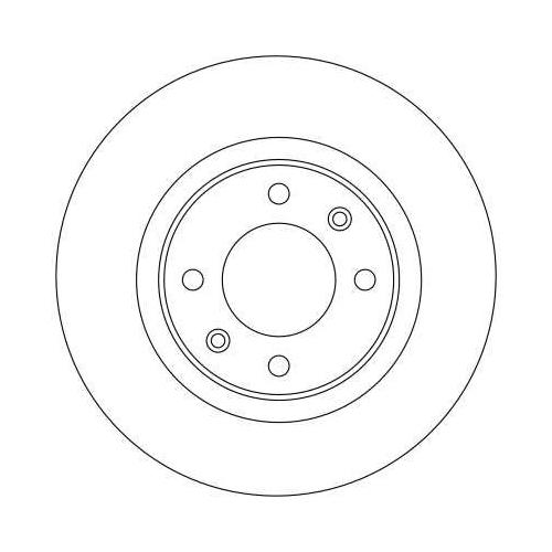 TRW Brake Disc DF4215
