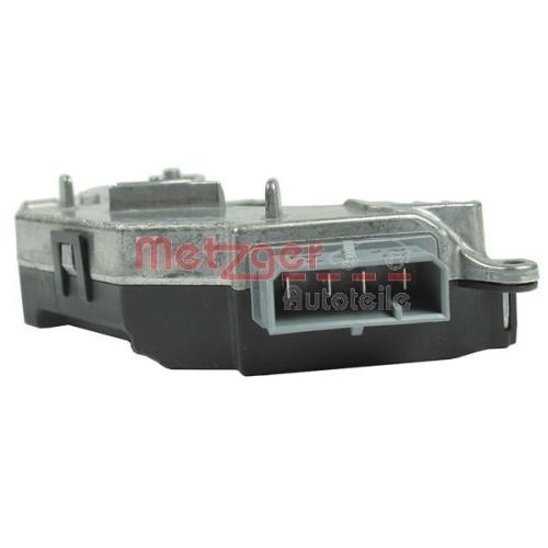Regulator, passenger compartment fan METZGER 0917238 FIAT OPEL