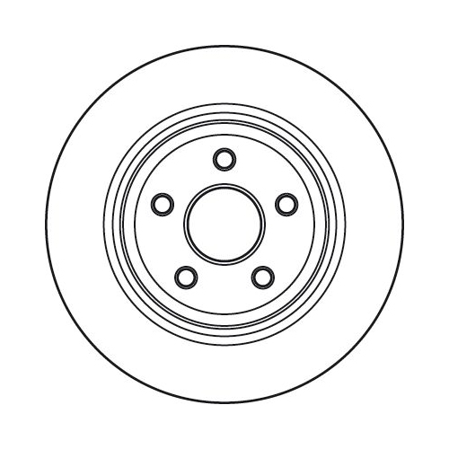 TRW Brake Disc DF4979S