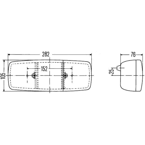 Combination Rearlight HELLA 2SE 001 699-071 FIAT IVECO MAN MERCEDES-BENZ RENAULT