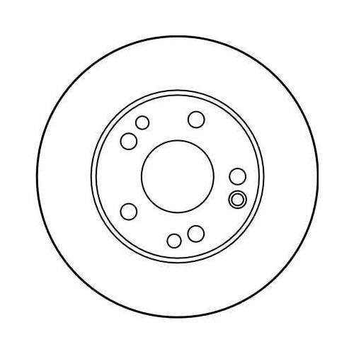 TRW Brake Disc DF2814