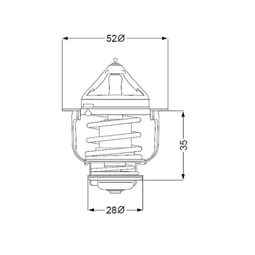 WAHLER Thermostat 410182.84D