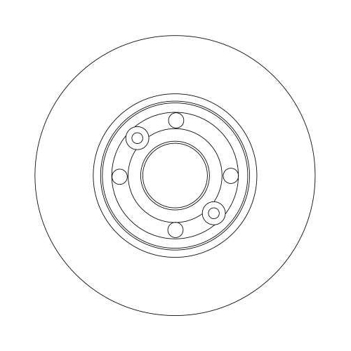 TRW Brake Disc DF4364