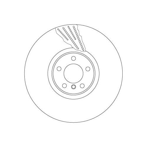 TRW Brake Disc DF6619S
