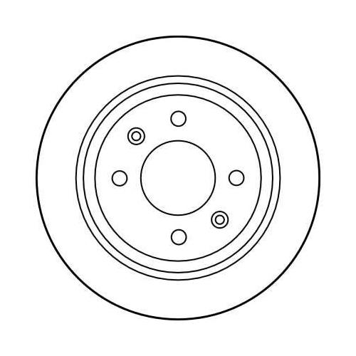 TRW Brake Disc DF1669
