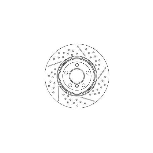 TRW Brake Disc DF6601S