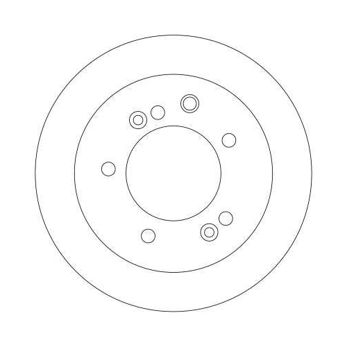 TRW Brake Disc DF4395S