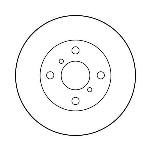 TRW Brake Disc DF4007