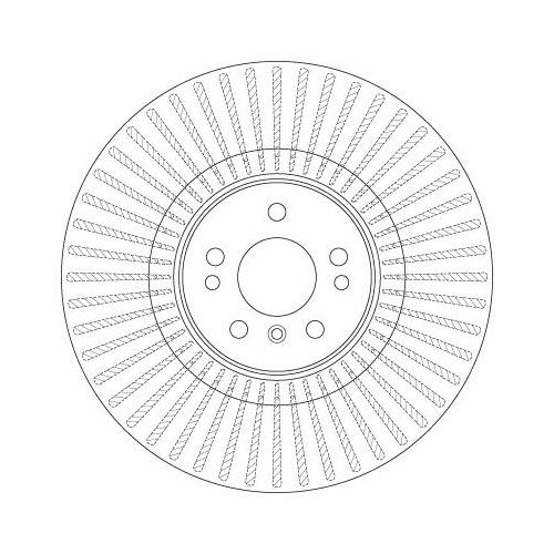 Brake Disc TRW DF6456S MERCEDES-BENZ