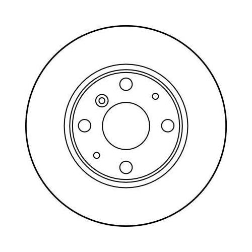 Brake Disc TRW DF3114 DAIHATSU