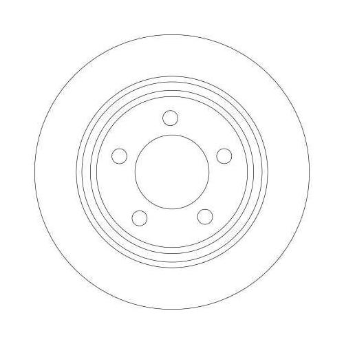 TRW Brake Disc DF4420