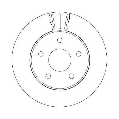 TRW Bremsscheibe DF4170