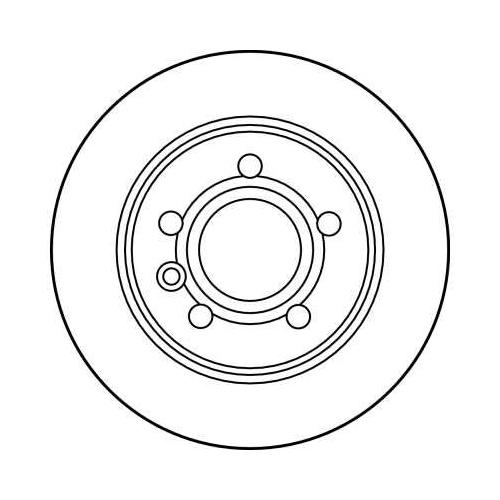 TRW Brake Disc DF2777
