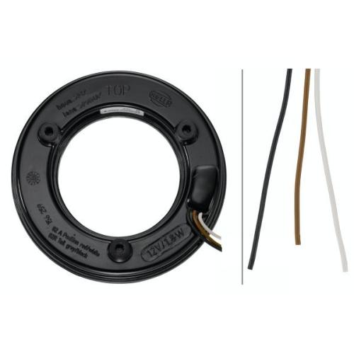 Combination Rearlight HELLA 2SB 008 405-101 BOMAG MANITOU LINDNER ROSENBAUER