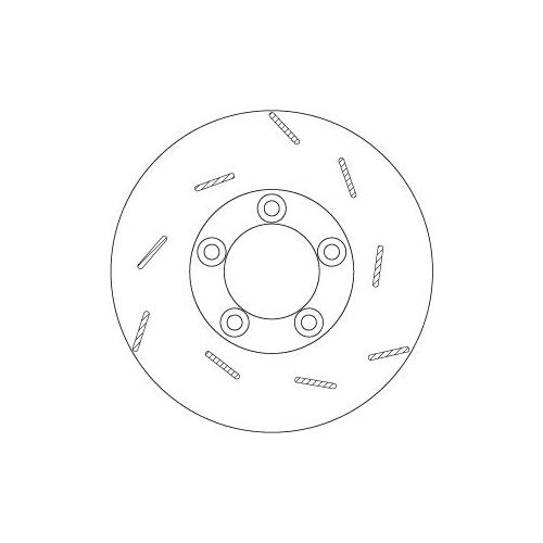 TRW Brake Disc DF6321S