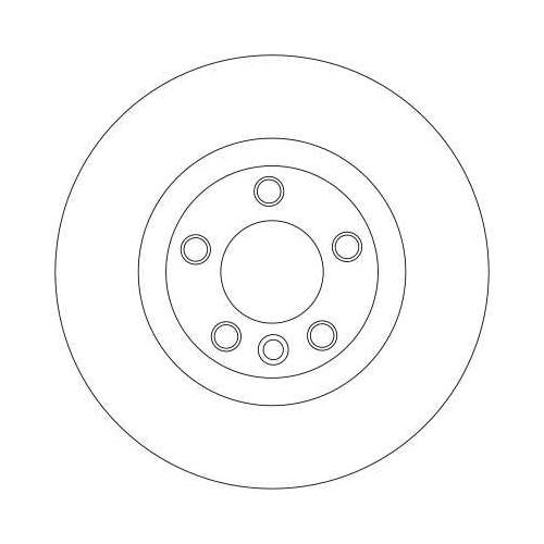 Brake Disc TRW DF4360 BMW