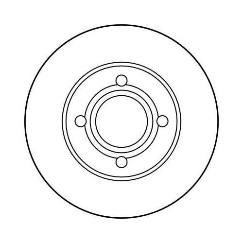 TRW Brake Disc DF1530