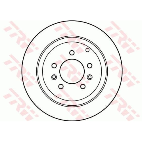 TRW Brake Disc DF4130