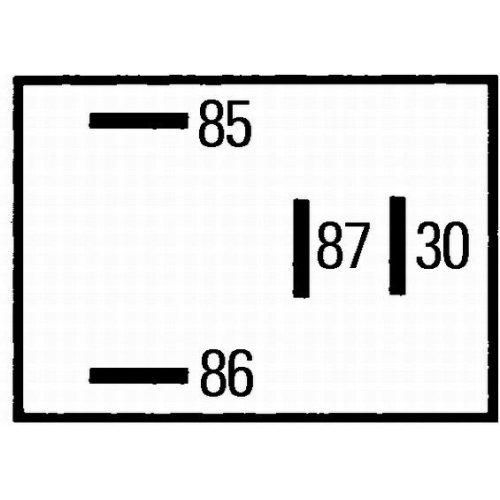 Multifunctional Relay HELLA 4RA 933 766-111 MERCEDES-BENZ TOYOTA STEINBOCK HAKO