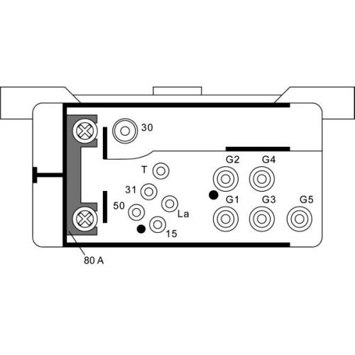 Control Unit, glow plug system HELLA 4RV 008 188-061 MACK SSANGYONG EVOBUS