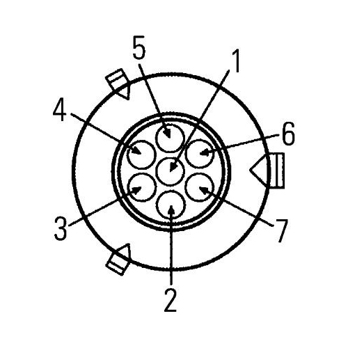 Combination Rearlight HELLA 2VP 007 500-421 AEBI DAF MERCEDES-BENZ SCANIA DOLL