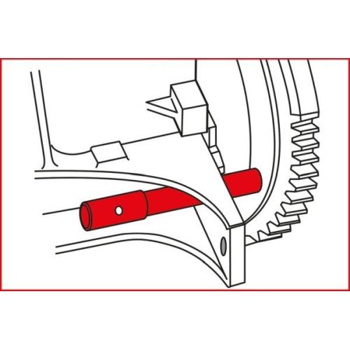 KS TOOLS Engine Timing Tool Set for BMW, 10 pcs 400.1050