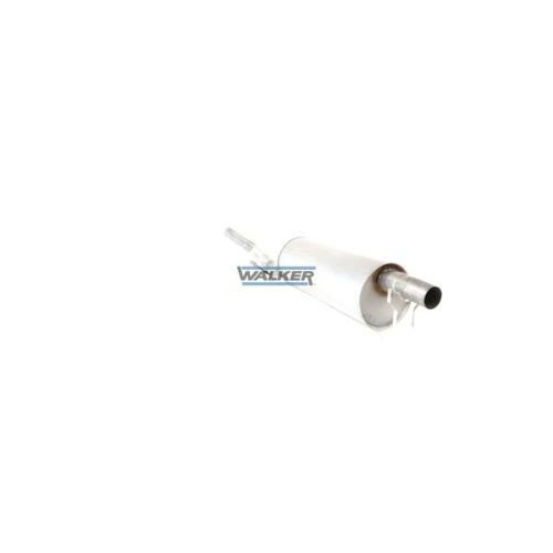 Middle Silencer WALKER 23661 CITROËN FIAT LANCIA PEUGEOT